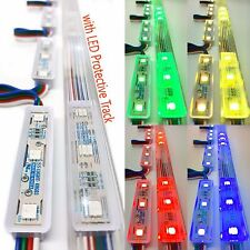 Luxdiyled Storefront Kit with Tracks for Indoor & Outdoor Kit (Multi-color 50ft)