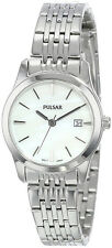 Pulsar Women's Analog Quartz Mother of Pearl Stainless Steel Watch PH7231