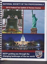 National Society Of Tax Professionals 2015 Federal Tax Update & Review NSTP