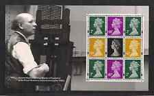 2007 GB QE2 ROYAL MAIL DX37 PRESTIGE BOOKLET PANE MACHIN MASTERPIECE SG Y1668B