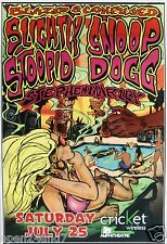 """SLIGHTLY STOOPID  /SNOOP DOGG """"BLAZED & CONFUSED TOUR"""" 2009 CALI CONCERT POSTER"""