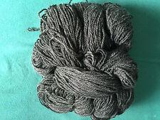 Schafwolle Wolle Schurwolle stricken dunkelgrau:1000g = (1Kg)