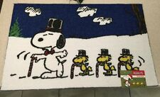 Snoopy Woodstock Christmas Winter Peanuts Rug Woodstock 20X32 Charlie Brown