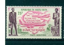 AEREI - PLANES UPPER VOLTA 1962 Air Africa Foundation 1st Anniv.