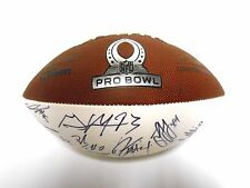 Cam Newton Andrew Luck JJ Watt 2014 TEAM Sanders Signed Autograph Football Ball