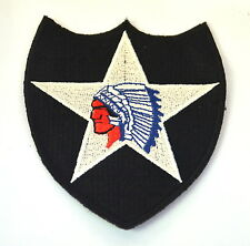 GERONIMO NATIVE  INDIAN HEADDRESS Embroidered Sew On Cloth Patch Badge  APPLIQUE