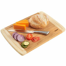 VonShef Bamboo Wooden Cutting Kitchen Food Large Chopping Board