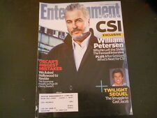 William Petersen, Taylor Lautner - Entertainment Weekly Magazine 2009