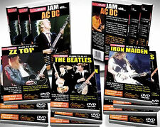 LICK LIBRARY LEARN TO PLAY 5 DVDS TUTORIAL GUITAR BOXSET