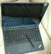 Lenovo ThinkPad Helix i5 256GB SSD hybrid tablet 2-in-1 win-10 ultrabook touch