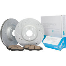 [REAR] Brake Disc Rotors & Ceramic Pads fits Toyota Camry & Avalon 2007-2011