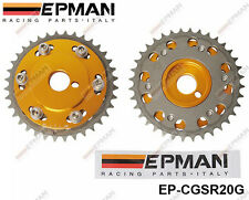 Epman RACING CAM GEAR INGRANAGGI coppia si adattano NISSAN ENGINE SR20DET GOLDEN S13 S14 S15
