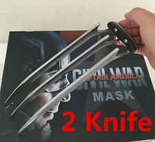 2PCS Brand New X-Men XMEN Wolverine Blade Claws High Quality Cosplay