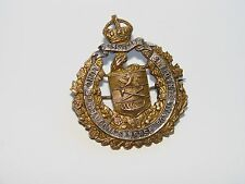Canada WW1 CEF Collar Badge Officer's Lord Strathcona's Horse