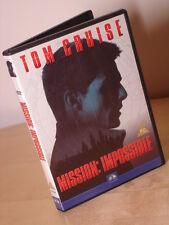 Mission Impossible 1 DVD, Tom Cruise, Brian De Palma, IMF, Jon Voight, Jean Reno