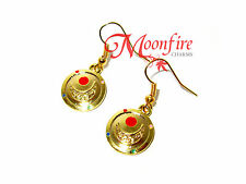 SAILOR MOON CRYSTAL TRANSFORMATION EARRINGS CRISIS MOON CRYSTAL STAR QUALITY