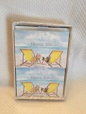 Hortense B. Hewitt Seaside Jewels Thank You Cards New in Box Wedding Accessories