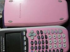TEXAS INSTRUMENTS TI-84 PLUS SILVER EDITION - PINK - GRAPHING CALCULATOR