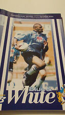 25.8.96 Featherstone Rovers v Salford Reds programme