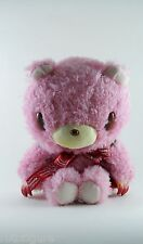 "Gloomy Pink Plush new 10"" mori chack sitting soft stuffed animal bear"