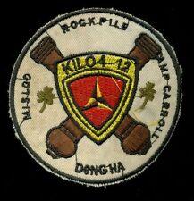 USMC Kilo 4/12 Dong-Ha Patch F-5