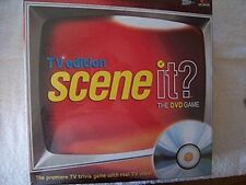 Screenlife Scene It TV Edition The DVD Game NEW NIB Sealed