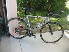 Cervelo dual 54cc road bike trial triathlon