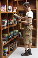 1/6 Soldier Model Scene dolls furniture accessories Ten-division bookcase combin
