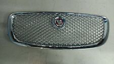 Genuine Jaguar XJ X351 Front Chrome Grille with  Red & Chrome Badge  2012 on