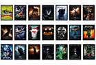 Framed Batman Movie Poster A4 Size Mounted In Black Frame Choice Of 36+ Designs