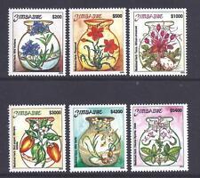 Zimbabwe, 2003 amenazadas hierbas medicinales, Sg 1117-22, mnh Set 6