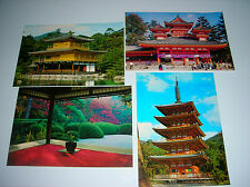 "LOT OF 4 VINTAGE ORIENT 6"" X 4"" UNUSED POST CARDS"