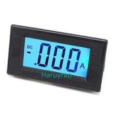 LCD DC 100A Digital Amperemeter Panel Ammeter/ amp Ampere Meter 12v Current car
