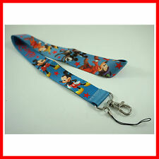 NEWEST Mickey Mouse ID card holder, Key Neck Strap Lanyard, Phone Neck Strap
