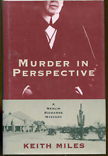 Murder in Perspective by Keith Miles-Publisher Review Copy-1997-1st Edition/DJ