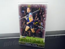 Signed BRENT TATE Photo & Frame PROOF North Queensland Cowboys NRL 2017 Jersey