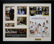 Modern Family Limited Edition Framed Memorabilia New (w)