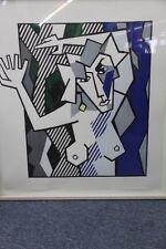 """Roy Lichtenstein-muy Raro L/E de 50, xilografía """"desnuda en el bosque"""", mano-firmado"""