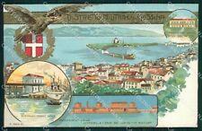 Militari Distretto Militare Messina PIEGHE cartolina MT9033
