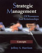 Strategic Management: Of Resources And Relationships-ExLibrary