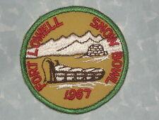 """Fort Lowell Snow Bowl 1967 Patch - Arizona - 3"""" x 3"""""""