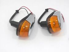 VW BUG Turn Signal Light 2pcs Assembly Amber Lens VOLKSWAGEN BEETLE 1964-1969