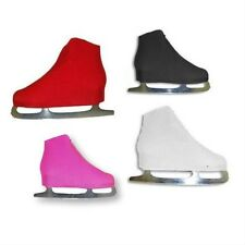 New A&R Figure Ice Skate Nylon Lycra Boot Covers Skate One Size Fits Most Black