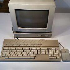 Atari Mega ST4 with keyboard, mouse and Atari SM124 Monitor (Tested working)