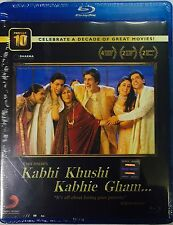 Kabhi Khushi Kabhie Gham Bluray - Shahrukh Khan , Hrithik - Hindi Movie Bluray