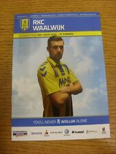 12/02/2016 Waalwijk v Emmen  . Thanks for viewing this item, buy with confidence
