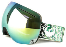 NEW 2016 Dragon X1 Goggles-Dense Green-Smoke Gold+Yellow Red-SAME DAY SHIPPING!