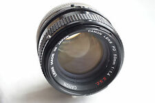 CANON FD 50mm f1.4 S.S.C. for mirrorless cameras JAPAN GOOD