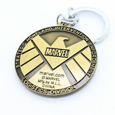 Keychain / Porte-clés - Marvel The Avengers Agents of S.H.I.E.L.D. Gold