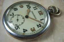 A WW2 JAEGER-LECOULTRE AIR MINISTRY POCKET WATCH c.EARLY 1940'S NEEDS A SERVICE